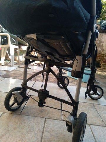 Vendo carrinho bebê Completinho sem mancha nada estragado novinho da marca peg-perego   - Foto 2