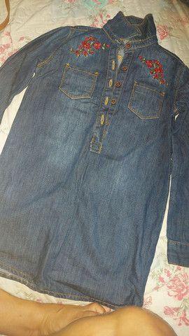 Vestido jeans  - Foto 2
