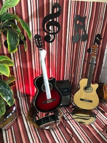GNF-1D CEQ violão nailon eletroacústico *Promoção!* em até 10x sem juros - Foto 4