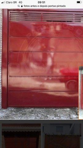 Fazemos pintura de portão portas janelas