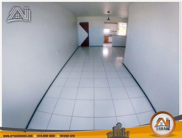 Apartamento com 3 dormitórios à venda, 118 m² por R$ 300.000,00 - Vila União - Fortaleza/C - Foto 2