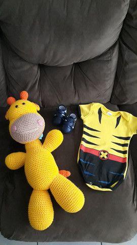 Body bebê calça casaquinho - Foto 4