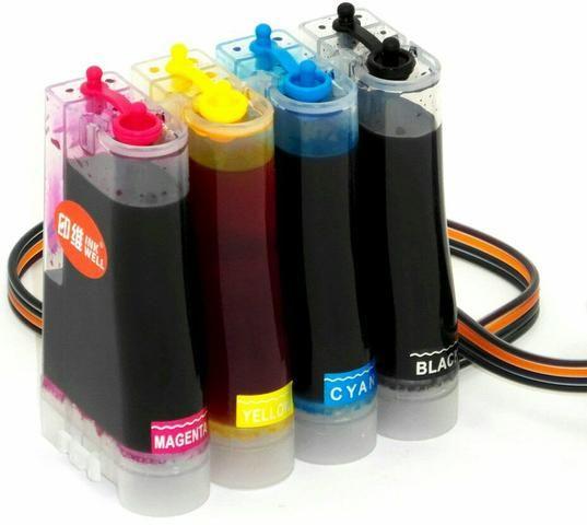 BULK-INK Recarga automática para sua Impressora HP