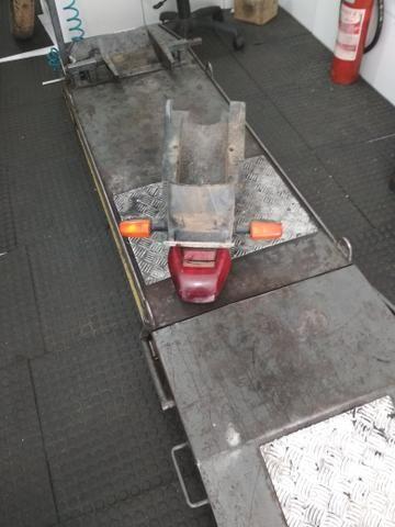 Paralama traseiro da cbx 250 Twister