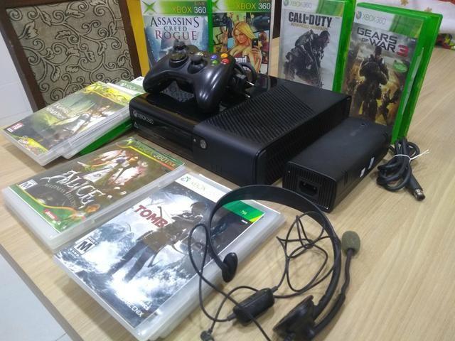 Xbox super slim desbloqueado joga online - Foto 5