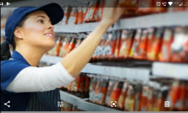 Repositor Supermercado com experiência