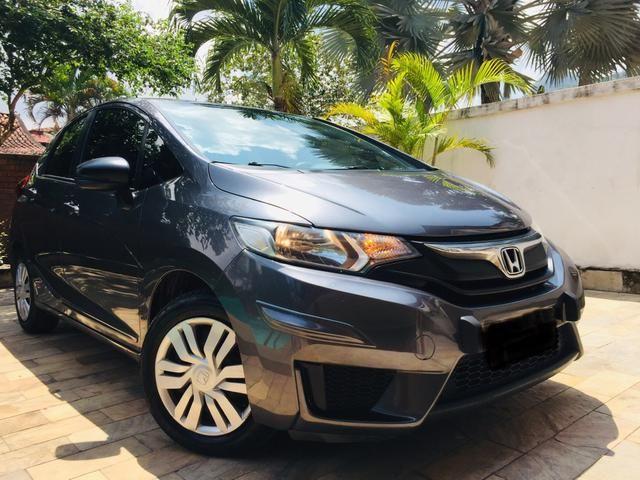 Honda Fit automático com couro e multimedia, ún.dona com 60 mil km!!!!