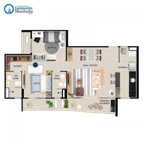 Apartamento residencial à venda, Engenheiro Luciano Cavalcante, Fortaleza. - Foto 12