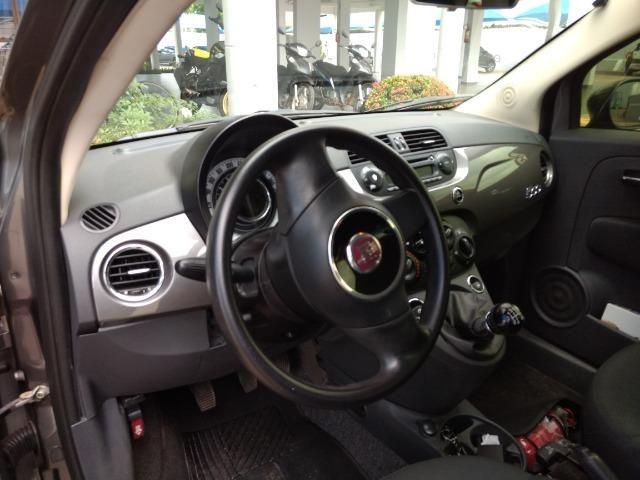 Fiat 500 / 2012 - Único dono - Foto 9