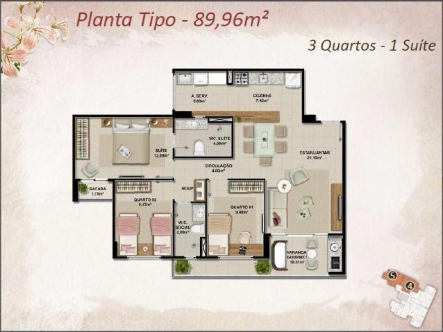 Apartamento Novo na melhor Localização do Cambeba - Foto 5
