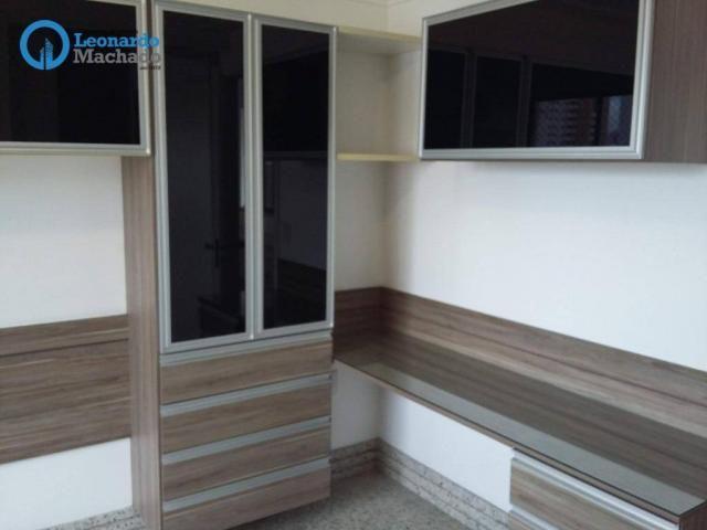 Apartamento com 3 dormitórios à venda, 150 m² por R$ 795.000 - Aldeota - Fortaleza/CE - Foto 18
