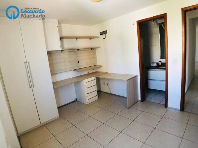 Apartamento com 3 dormitórios à venda, 115 m² por R$ 585.000 - Cocó - Fortaleza/CE - Foto 14