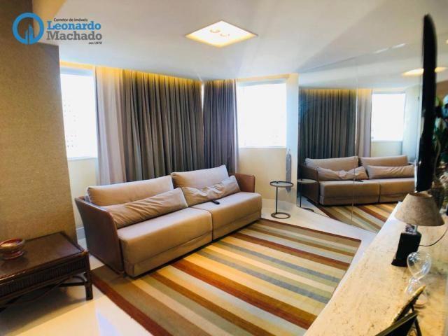 Apartamento Cobertura com 4 dormitórios à venda, 346 m² por R$ 2.500.000 - Meireles - Fort - Foto 18