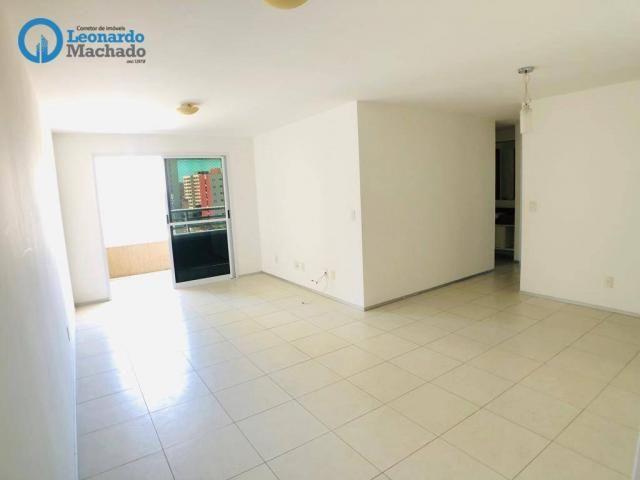 Apartamento com 3 dormitórios à venda, 115 m² por R$ 585.000 - Cocó - Fortaleza/CE - Foto 9