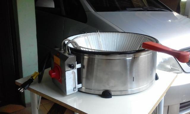 Fritadeira elétrica indústrial