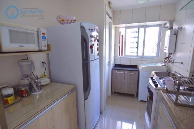 Apartamento com 2 dormitórios à venda, 70 m² por R$ 410.000,00 - Guararapes - Fortaleza/CE - Foto 4