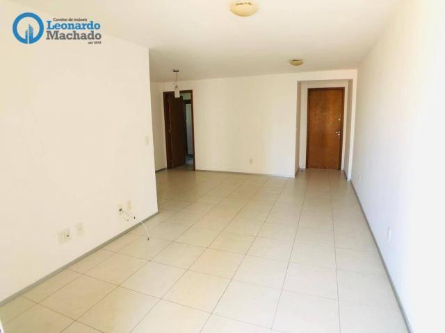 Apartamento com 3 dormitórios à venda, 115 m² por R$ 585.000 - Cocó - Fortaleza/CE - Foto 11