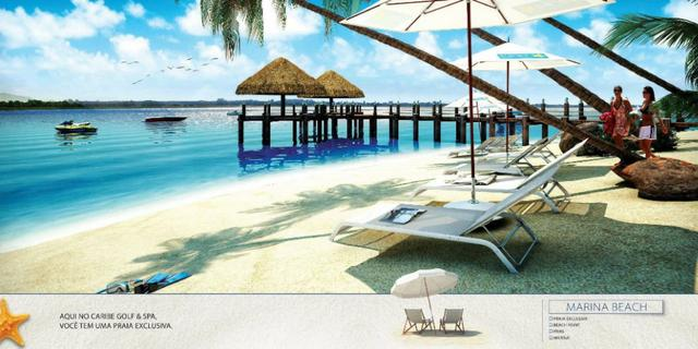 Caribe Golf & Spa Condomínio Resort - Lotes a partir de 600 m² - Beira Lago