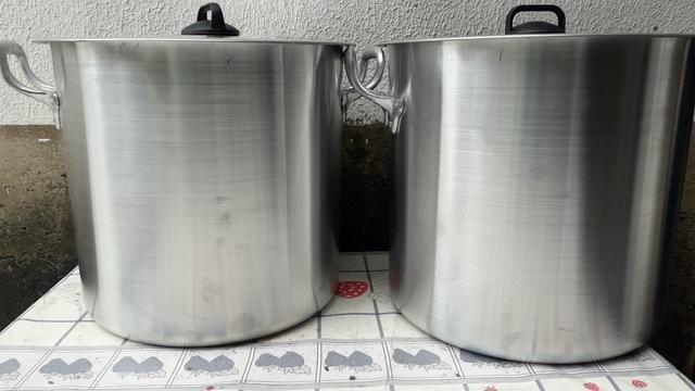 Caldeirão de alumínio de 20 litros