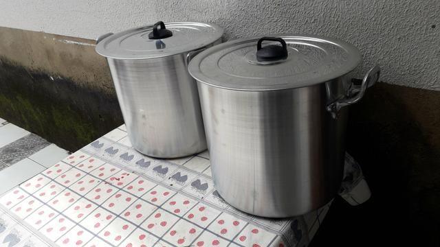 Caldeirão de alumínio de 20 litros - Foto 2