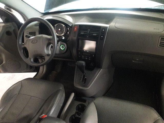 Hyundai tucson gls 2.7 v6 4x4 ano 2007 -automatica - valor: 29.999,99 - Foto 11