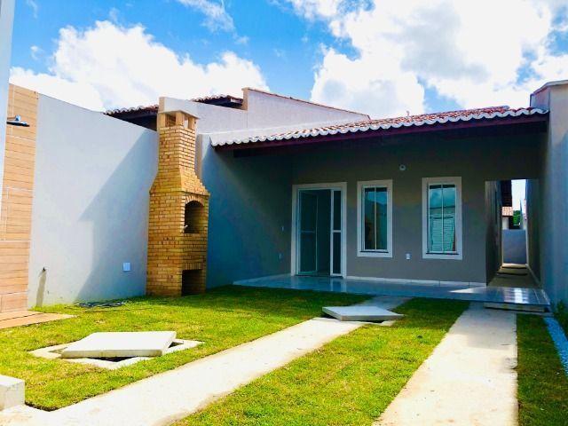 JP linda casa com 2 quartos 2 banheiros otimo acabamento com doc. gratis - Foto 15