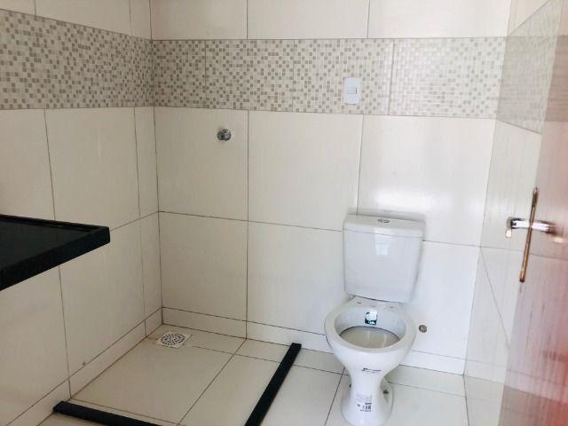 JP linda casa com 2 quartos 2 banheiros otimo acabamento com doc. gratis - Foto 9