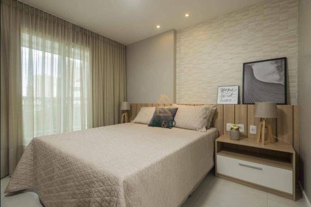Apartamento com 3 dormitórios à venda, 90 m² por R$ 680.000 - Guararapes - Fortaleza/CE - Foto 13