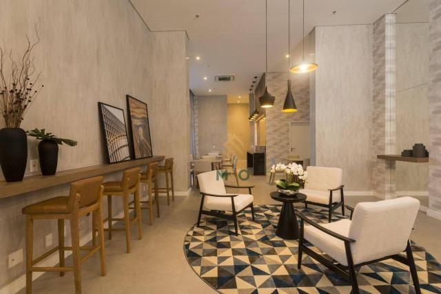 Apartamento com 3 dormitórios à venda, 90 m² por R$ 680.000 - Guararapes - Fortaleza/CE - Foto 9