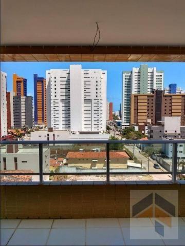 Apartamento com 3 dormitórios à venda, 112 m² por R$ 470.000,00 - Bessa - João Pessoa/PB - Foto 5
