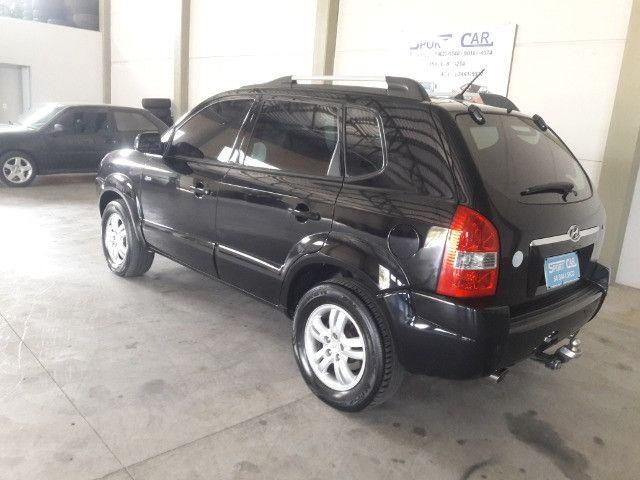 Hyundai tucson gls 2.7 v6 4x4 ano 2007 -automatica - valor: 29.999,99 - Foto 14