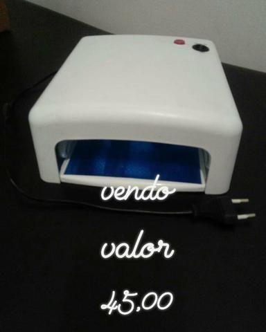 Cabine de secagem de unhas