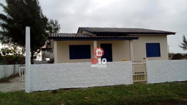 Casa com 3 dormitórios à venda, 85 m² por R$ 160.000,00 - Zona Nova Norte - Balneário Arro
