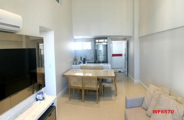 Edifício Los Angeles, apartamento duplex com 3 suítes, porteira fechada, mobiliado - Foto 3