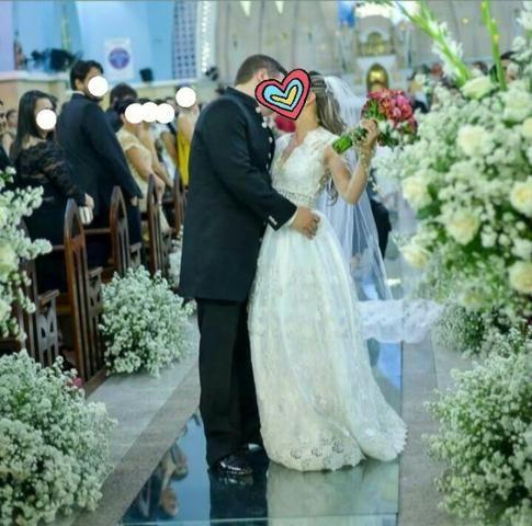 Vestido de Noiva + Acessórios - Foto 5
