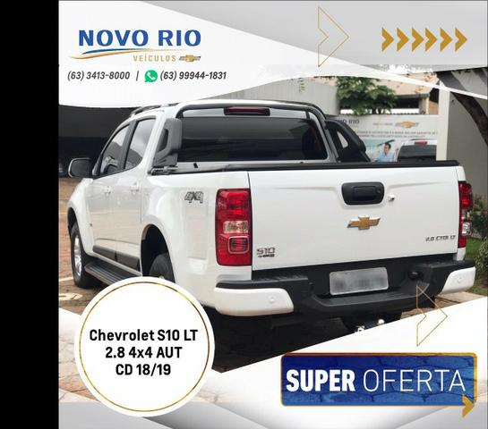 Chevrolet S10 LT 2.8 4x4 AT CD - Foto 8