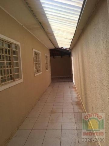 Casa com 3 dormitórios para alugar, 132 m² por R$ 1.600,00/mês - Parque Brasília 2ª Etapa  - Foto 11