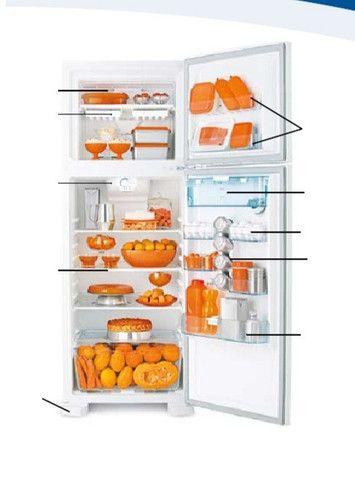 Geladeira Refrigerador Frost Free Eletrolux DFW35 110V