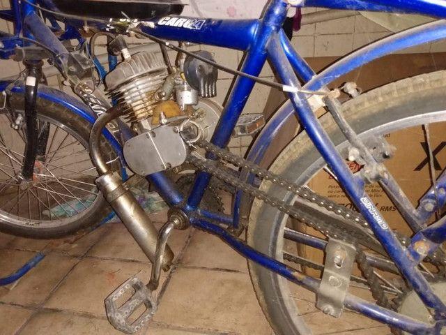 Bicicleta motorizada com a nota  - Foto 4