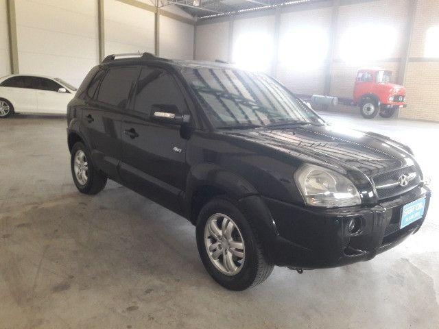 Hyundai tucson gls 2.7 v6 4x4 ano 2007 -automatica - valor: 29.999,99 - Foto 4