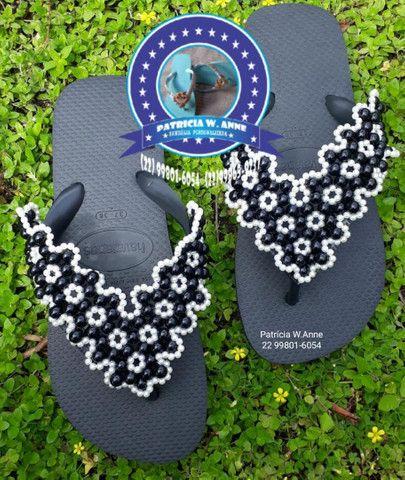 Sandália havaiana personalizada q - Foto 3
