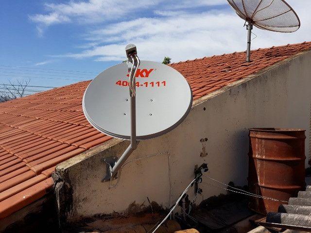 Antenas Via Satelite Vendo e Instalo - Foto 6