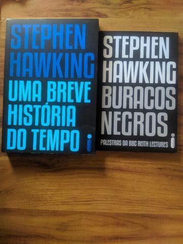 Kit livros Stephen Hawking - Foto 3
