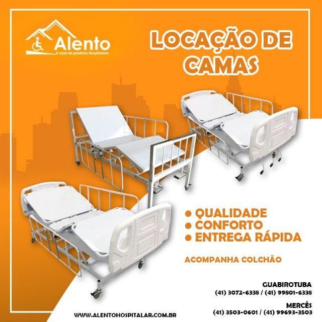 Locação de Camas Hospitalares Manuais ou Motorizadas