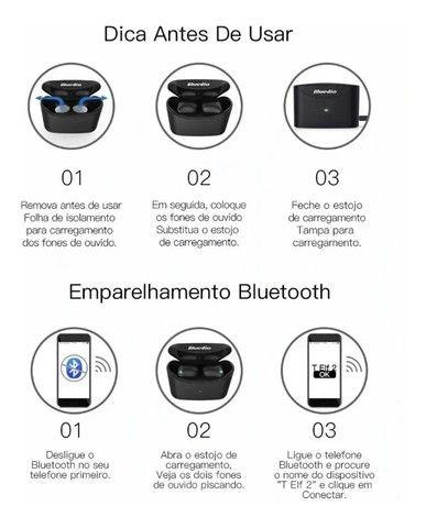 Fone De Ouvido Bluedio T-elf 2 Bluetooth Sem Fio Wireless - Foto 6