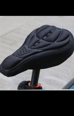 Capa para Selim Espuma e Silicone Banco Almofada Forro Para Bicicleta