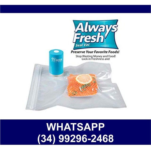 Embaladora Portátil A vácuo * Always Fresh * Fazemos Entregas