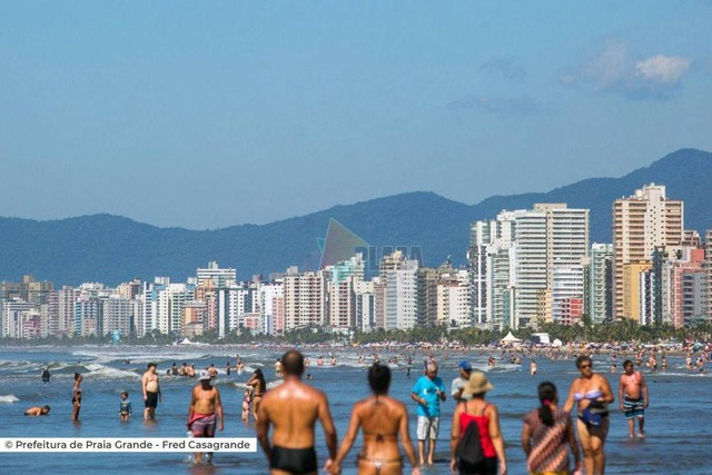 Praia Grande - Conjunto Comercial/Sala - Boqueirão - Foto 18