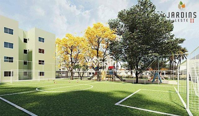Apartamento com 3 dormitórios à venda, 59 m² por R$ 212.000 - Vale Quem Tem Zona Leste- Te - Foto 6