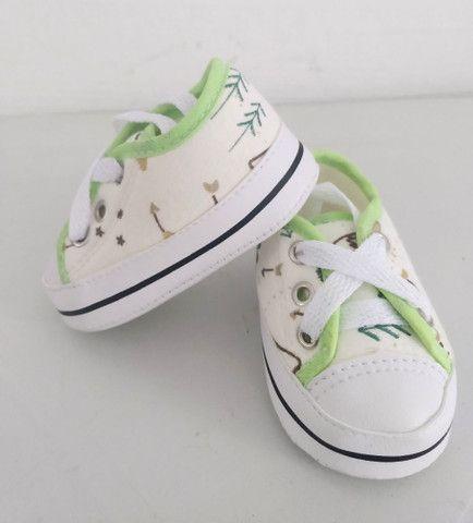 Sapatinhos para bebê/sandálias linha baby - Foto 4
